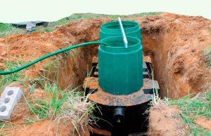 установка, монтаж автономной канализации, септика