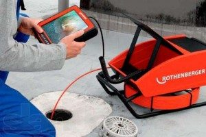 Аппарат для телеинспекции канализации