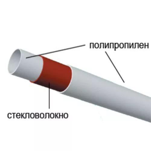 Армированные стекловолокном трубы можно не зачищать перед пайкой — это ускоряет и упрощает процесс монтажа трубопровода