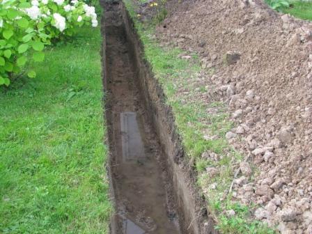 Дренажные трубы своими руками из канализационных