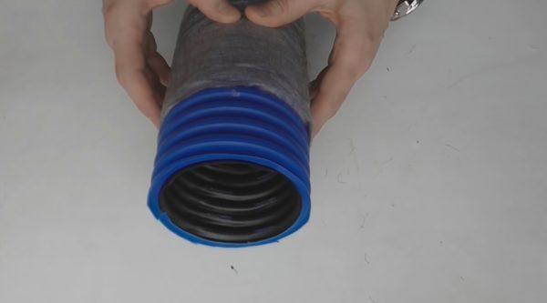 Двухслойная конструкция обеспечивает высокую жёсткость при небольшой толщине стенок