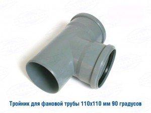 Обратный клапан для фановых труб