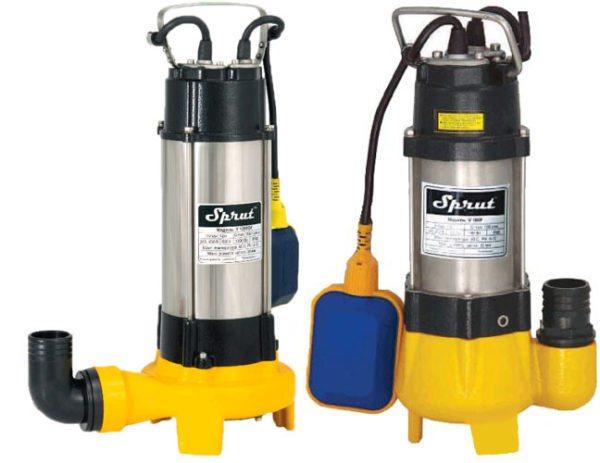 Фекально-дренажный насос способен перекачивать загрязненную воду с размером частиц взвесей до 15 - 30 мм.