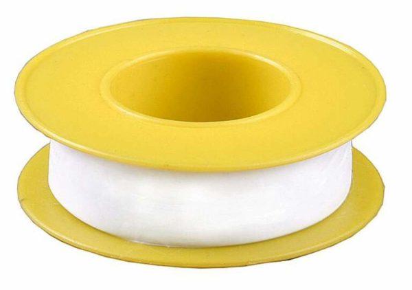 Фум-лента позволяет уплотнить резьбовые соединения при подключении тройника подачи воды на посудомоечную машину