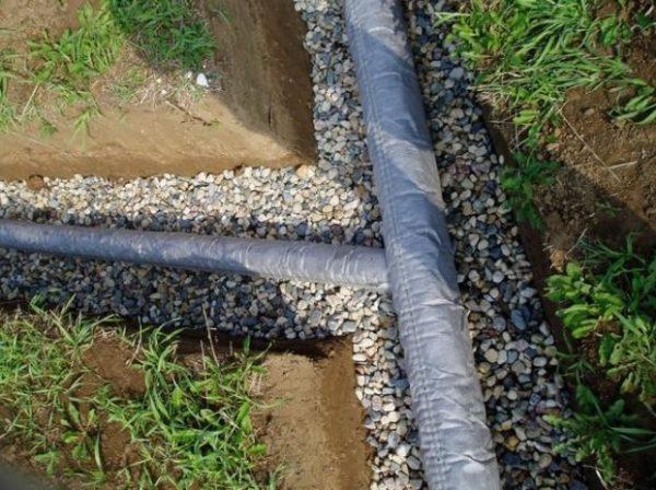 Глубинный дренаж – защита от высоких грунтовых вод.
