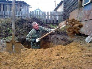 Как сделать выгребную яму