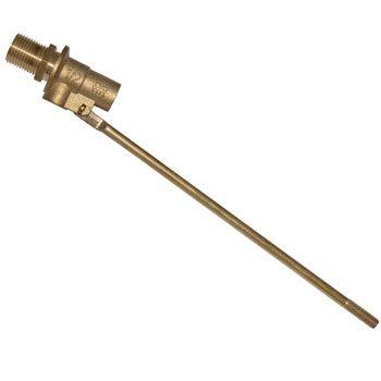 Латунный клапан укомплектован шпилькой из... правильно, из латуни.