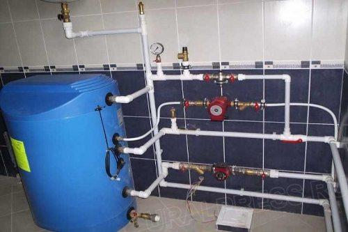 Система отопления из полипропиленовых труб своими руками