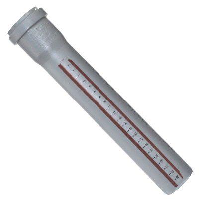 Немецкие полипропиленовые изделия Остендорф поставляются с нанесенной сантиметровой линейкой, что сильно упрощает разметку.