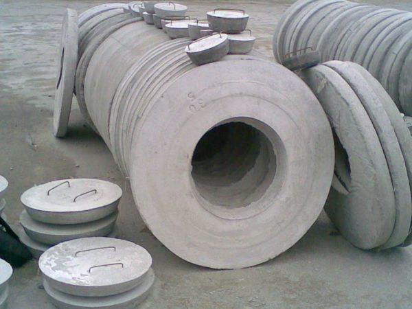 Опорные кольца и крышки из бетона