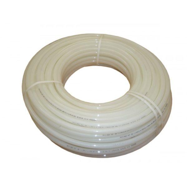Отличительная особенность трубы PERT - высокая термостойкость. В остальном она мало отличается от обычного полиэтилена.
