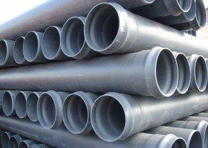 Пластиковые канализационные трубы для дренажных траншей