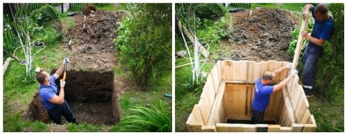 Подготовка места «поселения» для очистительной станции