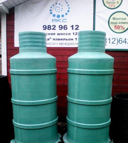 Прочный и надёжный стеклопластиковый водосборный колодец
