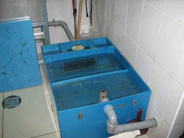 Промывка сепаратора проточной водой