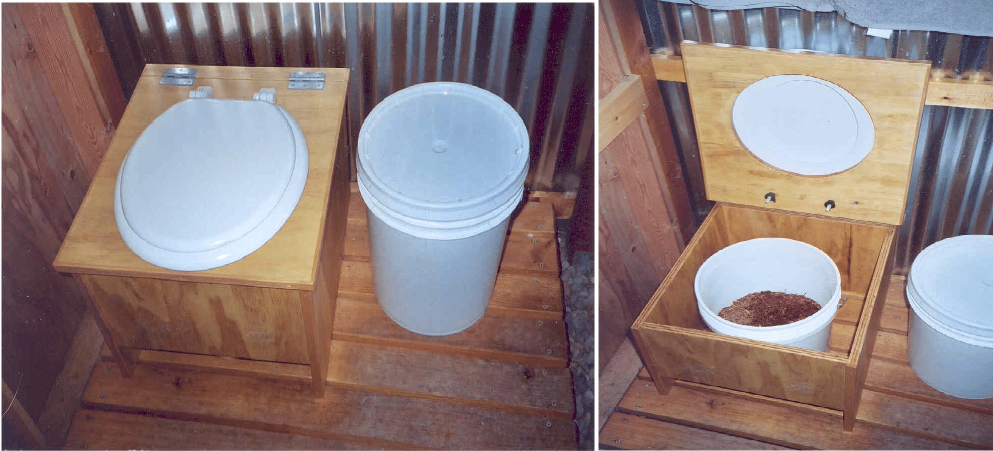 Как сделать унитаз на даче своими руками