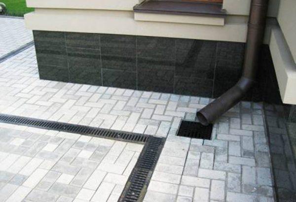 Рабочая ливневая канализация