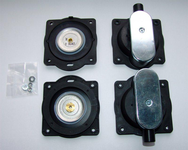 Ремкомплект для мембранного компрессора.