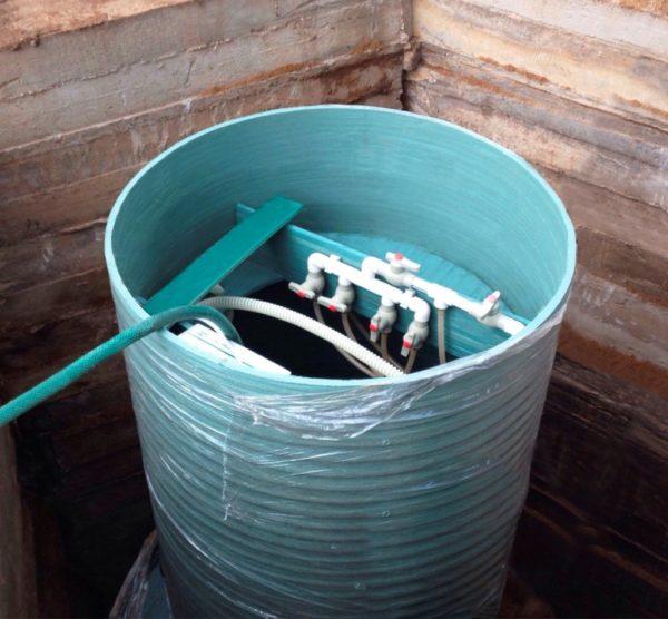 Септик Терра — автономная энергозависимая очистная станция с качеством очистки до 98%.