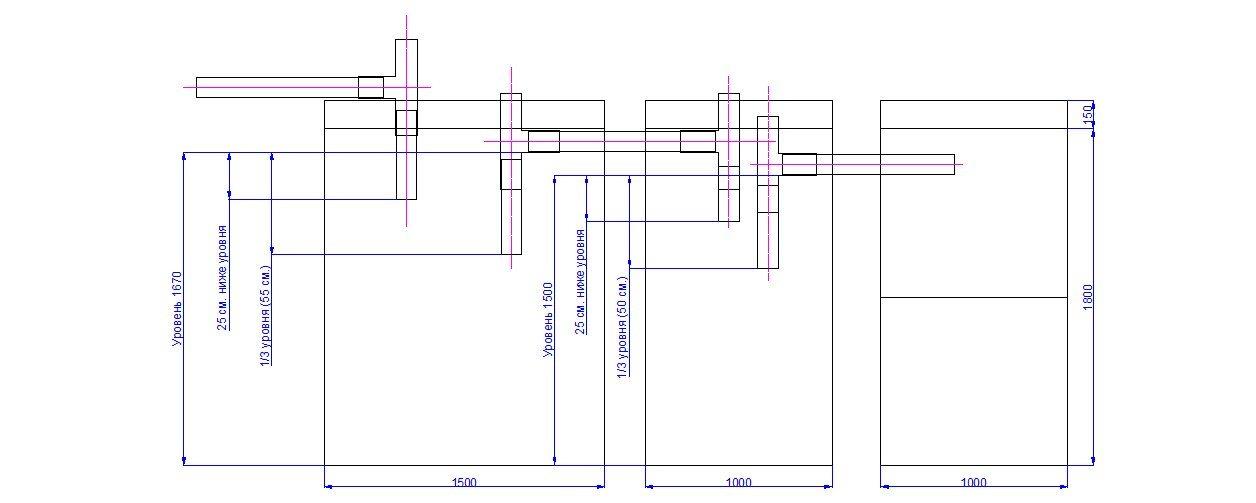 Схема канализации бетонные кольца своими руками 41