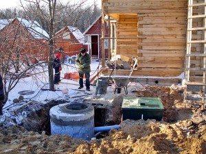 Системы канализации для дачи