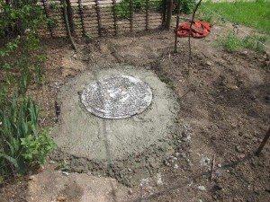 Как выкопать яму под канализацию