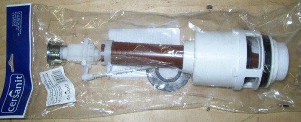 Современный смывной клапан Cersanit с системой двойного смыва.