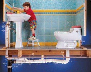 Средство для прочистки канализации