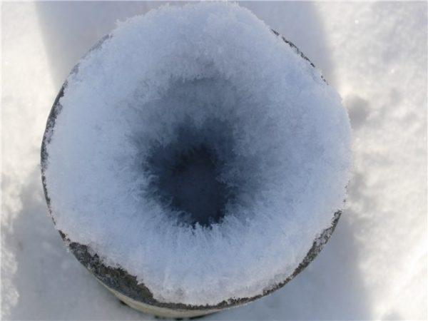 Типичная для холодных зим картина.