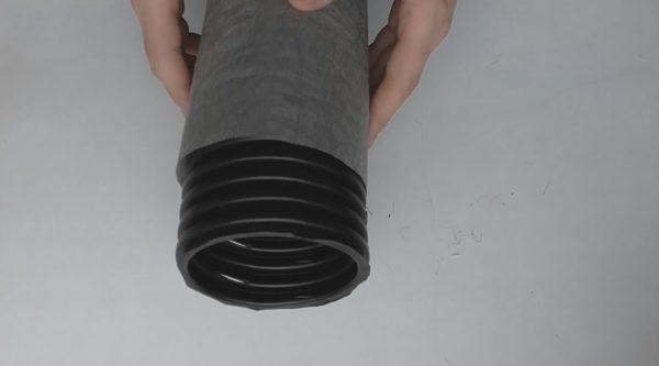 Труба для неглубокой закладки в грунт