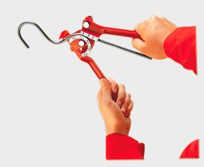 Трубогиб профильной трубы своими руками