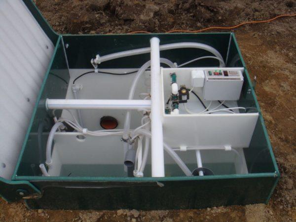 Установка глубокой биологической очистки сточных вод.