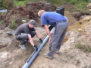 Устройство канализации на даче своими руками