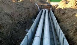 Устройство местной канализации