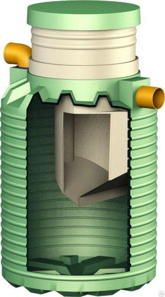 Устройство септика Микроб-450