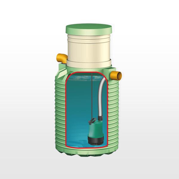 Устройство септика «Микроб 750»