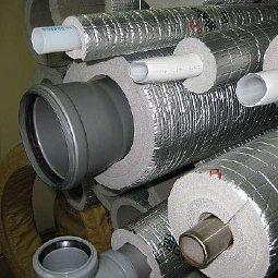 Утепление наружных канализационных труб