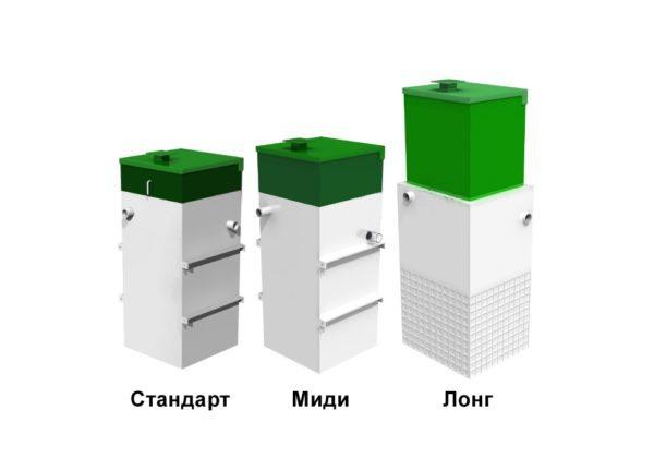 Варианты исполнения ЛОС Астра 5.