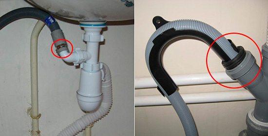 Все соединения слива с канализацией должны быть герметичными. Иначе ароматы канализации будут портить вам аппетит.