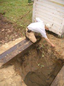 Выгребная яма устройство