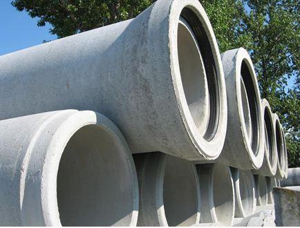 Железобетонные изделия этого типа часто поставляются с резиновыми уплотняющими кольцами.