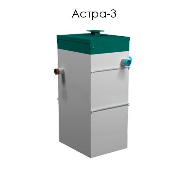 Знакомьтесь: станция глубокой биологической очистки Астра 3.